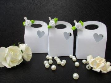 Faltschachtel ,tischdeko,Brauttisch,Hochzeitstisch,Tasche,Falttasche,dekotasche