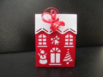 Weihnachtliche Faltschachtel,Faltschachtel, Advenskalender,Faltbox,Geschenkbox,
