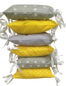 Bezaubernde Babybettumrandung ♥ Nestchen ♥ Handarbeit mit ♥