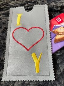 Schokoladen Tasche  Geschenkverpackung Schokoladenhülle Geschenk - Handarbeit kaufen