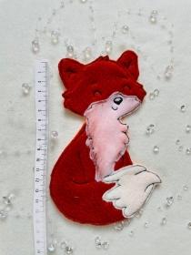 Applikation, Aufnäher, Patch,Fuchs Bügelbild, gestickt handmade Patches - Handarbeit kaufen