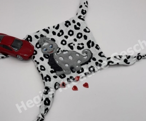 Kuscheltuch Schmusetuch Dino Schnuffeltuch Spieltuch Tröster für Kinder