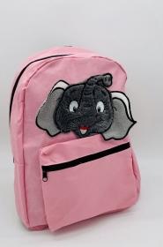 Rucksack für Kinder Kindergartentasche Rucksack Elefant Applikation - Handarbeit kaufen