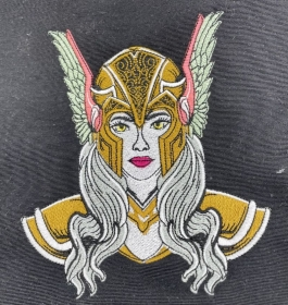 Wikinger Tasche Umhängetasche Viking Queen Warriors Tasche Mittelalter Viking Queen Warriors Unikat - Handarbeit kaufen
