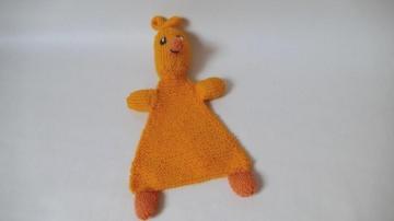 Enten-Schmusetuch für Babys und Kleinkinder ♥