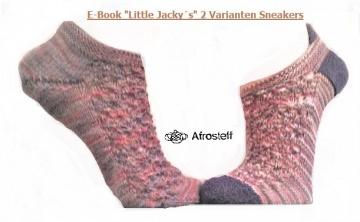 Strickanleitung für Sockenmuster ★Little Jacky´s★/ Sockenmuster für Sneakers