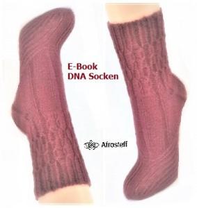 Strickanleitung für Sockenmuster ★DNA Socken★/ Sockenstrickmuster unisex