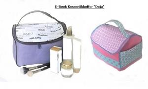 ✂ E-Book Nähanleitung Kosmetikkoffer Daja mit Tragegriff