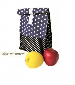 Lunchbag/ Vespertasche/ Brotbeutel/ Universaltasche, genäht / Kulturbeutel, Kulturtasche, Windeltasche, Gläschentasche
