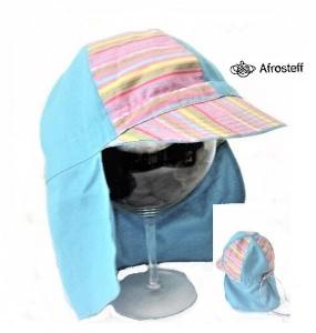 Kinder Schirmmütze mit Nackenschutz bis Gr.52/ Kinder Sonnenhut / Kinder Sonnenschutz/ Kinderschirmmütze/ Kinder Modeaccessoires