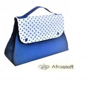 Handarbeitstasche/ Strandtasche/ Kosmetiktasche mit sinnvoller Fächerabteilung/  Projekttasche/ Project Bag