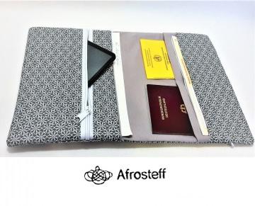 Reiseetui, Geldtasche, Dokumententasche genäht-alles gut Verpackt für die Reise