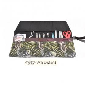 Strick- und Häkelnadeletui/ Aufbewahrung für Strick- und Häkelnadeln, Knit Pro Seilsysteme/ Nadelrolle
