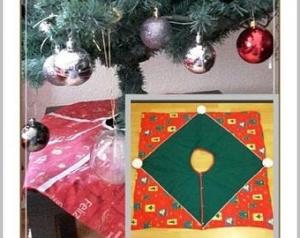 ✂ E-Book Nähanlanleitung Bella  die Baumdecke in 2 Varianten/ Nähanleitung, Weihnachtsdeko, Christbaumschmuck, E-Book Tree skirt