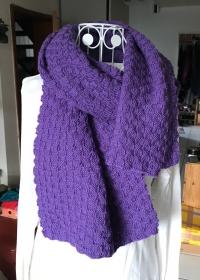 XXL-Schal für Damen oder (farbmutige) Herren - Handarbeit kaufen