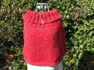 Kuscheliger Poncho mit großem Kragen *Woolly Hugs* - Handarbeit kaufen