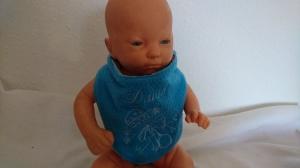 Baby Halstuch für einen David - Handarbeit kaufen