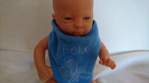 Baby Halstuch für einen Felix - Handarbeit kaufen