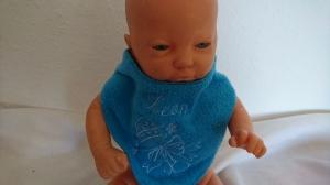 Baby Halstuch für einen Leon - Handarbeit kaufen