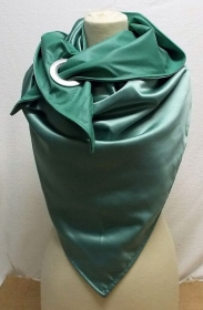 Dreieckstuch, Halstuch, elegant, meeresgrün - Handarbeit kaufen