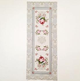 ☆ Gobelin  :Romanze: Paneele 40cm x 100cm,  romantische Rosenbouquets, Tischläufer
