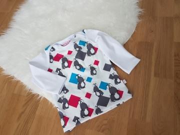 T-Shirt, Langarmshirt, Mäuschen Gr. 62-80