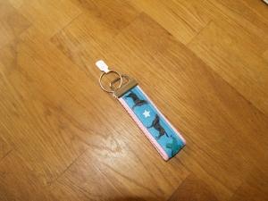 Schlüsselanhänger aus Gurtband