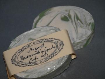 Arganöl Pflegeseife  *Buttermilch & Gurke*