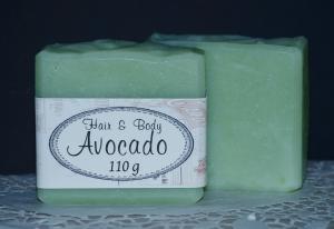 95 g -  Avocado - Haarseife