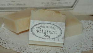 100 g Rizinus-Kokosöl-Seife  Natural Hair & Body