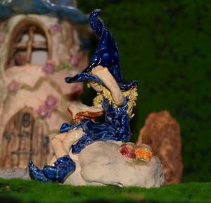Fee - Märchen Gartenstecker - Blumentopfstecker - Keramik