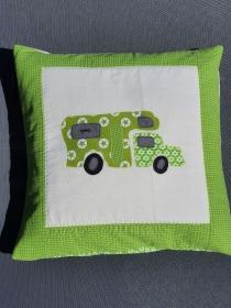 Kissenbezug 40x40 für Campingfreunde - Handarbeit kaufen