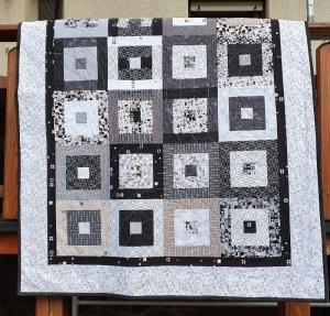 Patchworkdecke Quilt Tagesdecke Kuscheldecke genäht von NahtundMasche - Handarbeit kaufen