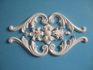 Einfache Tür oder Möbelverzierung, Dekoration, Stuck aus Gips, auch für Wände und Decken - Handarbeit kaufen