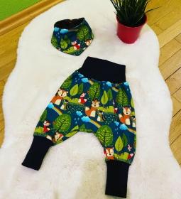 Süßes genähtes Babyset waldtiere braun - Handarbeit kaufen