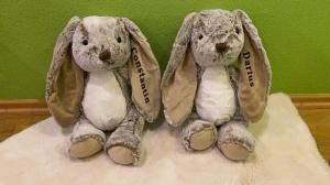 Kuscheltier Hase Osterhase Kinder Geschenkidee