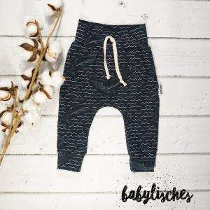 Baby Hose / Pants / Jogger aus Jersey Wal  Größe 74 - Handarbeit kaufen