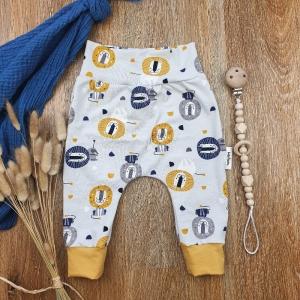 Baby Pants aus Jersey -Lion- Gr.68   - Handarbeit kaufen