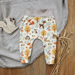 Baby Pants aus Jersey -Autum Forrest- Gr.74  - Handarbeit kaufen
