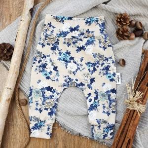 Baby Pants aus Jersey -Fall Roses- Gr.56     - Handarbeit kaufen