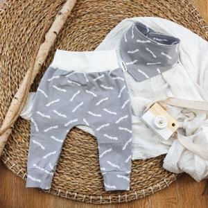 Set BabyPocket Pants & passendes Halstuch aus Jersey -Fledermaus- Gr.74  - Handarbeit kaufen