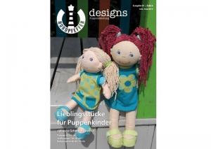 ✂ Schnittmusterheft Puppenkleidung – Nordpfeffer designs ✂ - Handarbeit kaufen