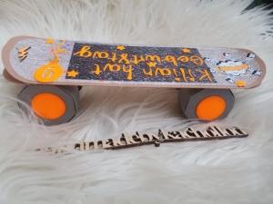 3 D Geburtstag Skateboard Karte für /Skaterfreak/Jungen / Teenager / Jügendliche  - Handarbeit kaufen
