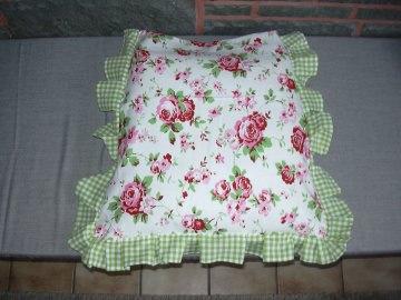 stuhlkissen stuhlauflage kissen bankauflage rosali landhauskissen sitzauflage