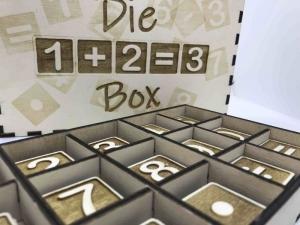 Die 1+2=3 Box  aus Holz, Lernzahlen, Spielzeug, Montessori, Kinder Puzzle, pädagogisches Spielzeug, Waldorf, Home schooling
