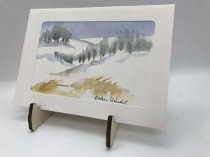 Bildaufsteller aus Holz für DIN A4 ,