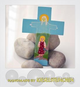Kinderkreuz mit Engelschutz