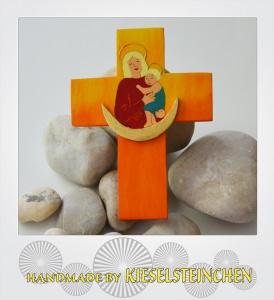 Kinderkreuz mit Maria mit Kind