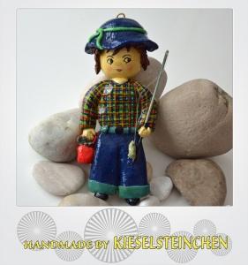 Salzteig Figur Fischer