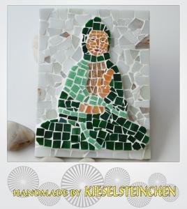 Mosaikbild Buddha